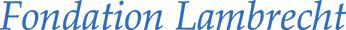 Fondation Lambrecht Logo